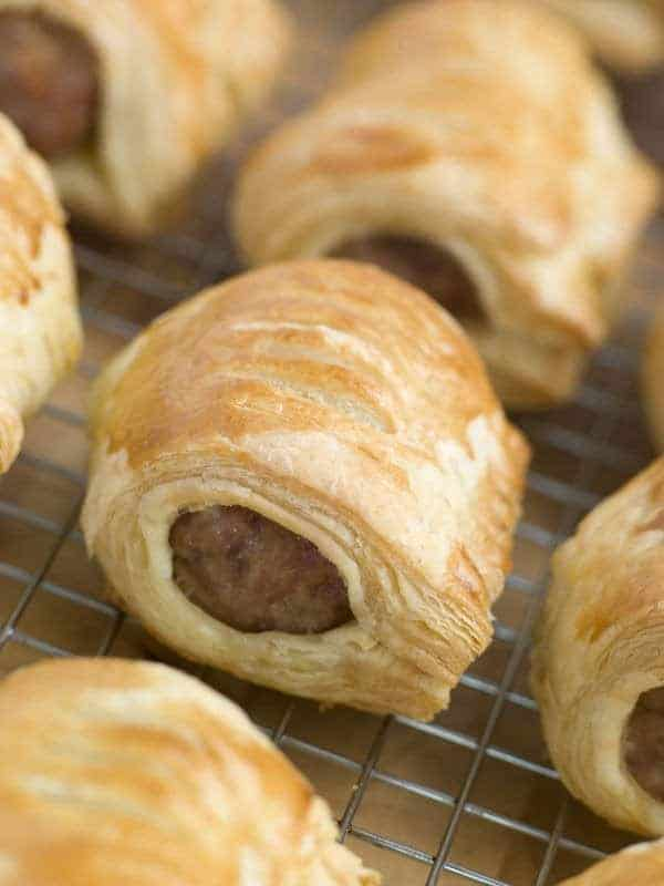 Sausage rolls from our buffet menu at Liberton Golf Club